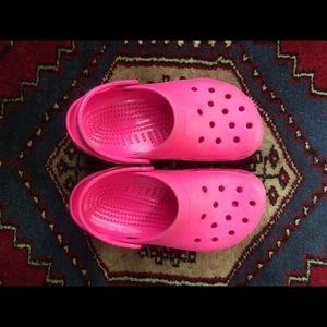 Women's crocs size 5